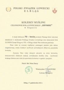 gratulacje Elbląg